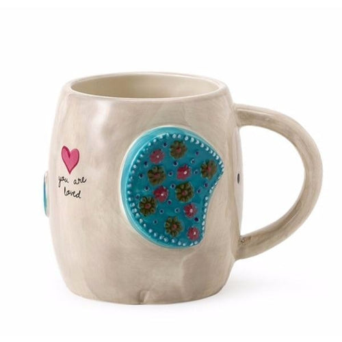 You are loved Elephant Mug