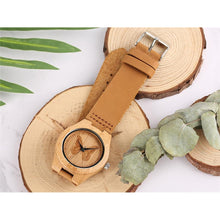 Bamboo Butterfly Watch