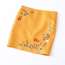 Vintage Embroidered Skirt