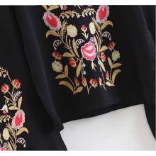 Kioto Embroidered Sweater