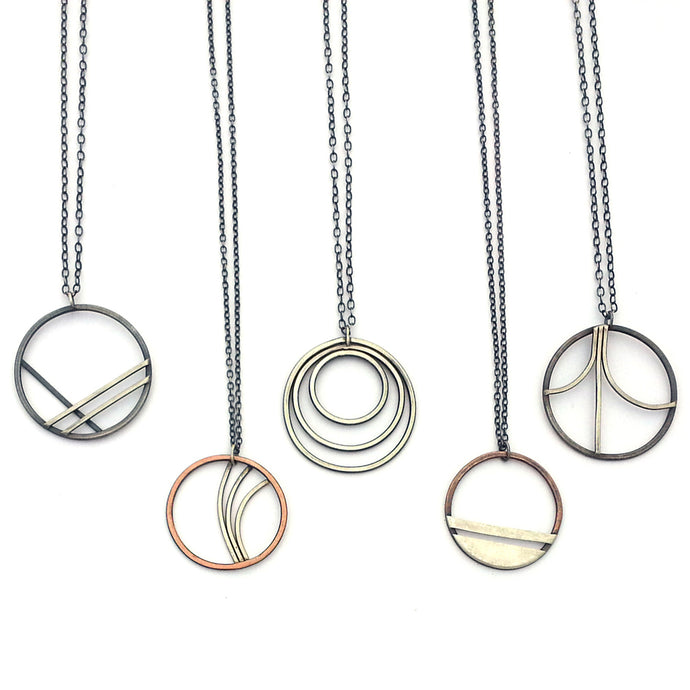 Minimal Geometric Jewelry From The Perimeter Collection