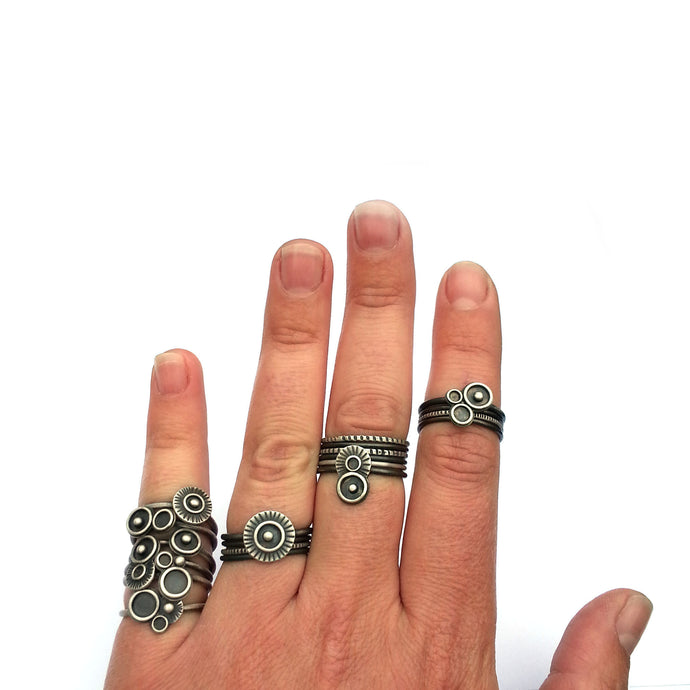 Finger Bling: Stacking Rings