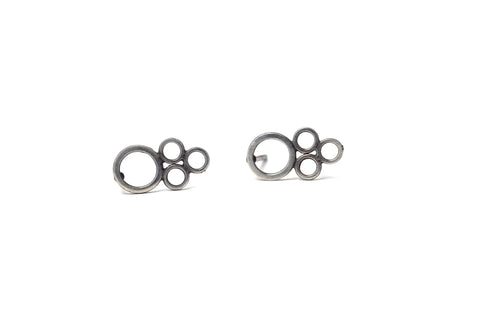 Delicate Eyelet Lace Stud Earrings