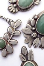 Aventurine Botanical Necklace