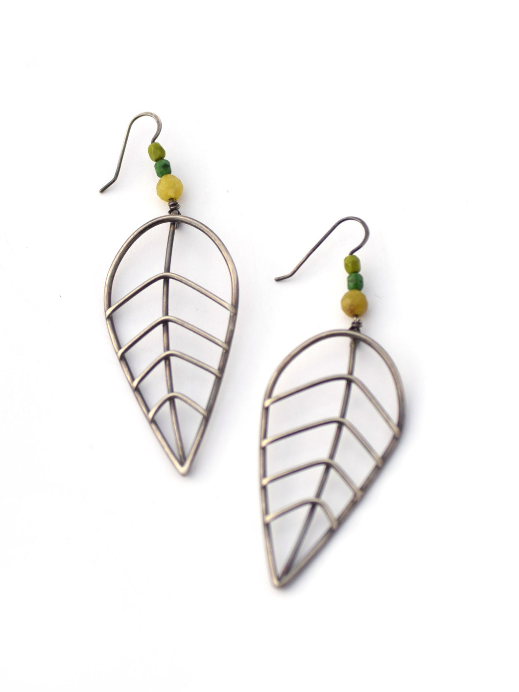 Extra Large Leaf Earrings