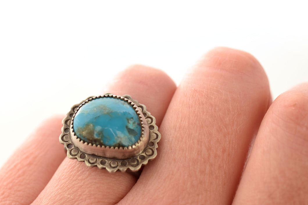 Turquoise Ring, Size 7.5