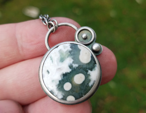 Ocean Jasper Necklace for Linda