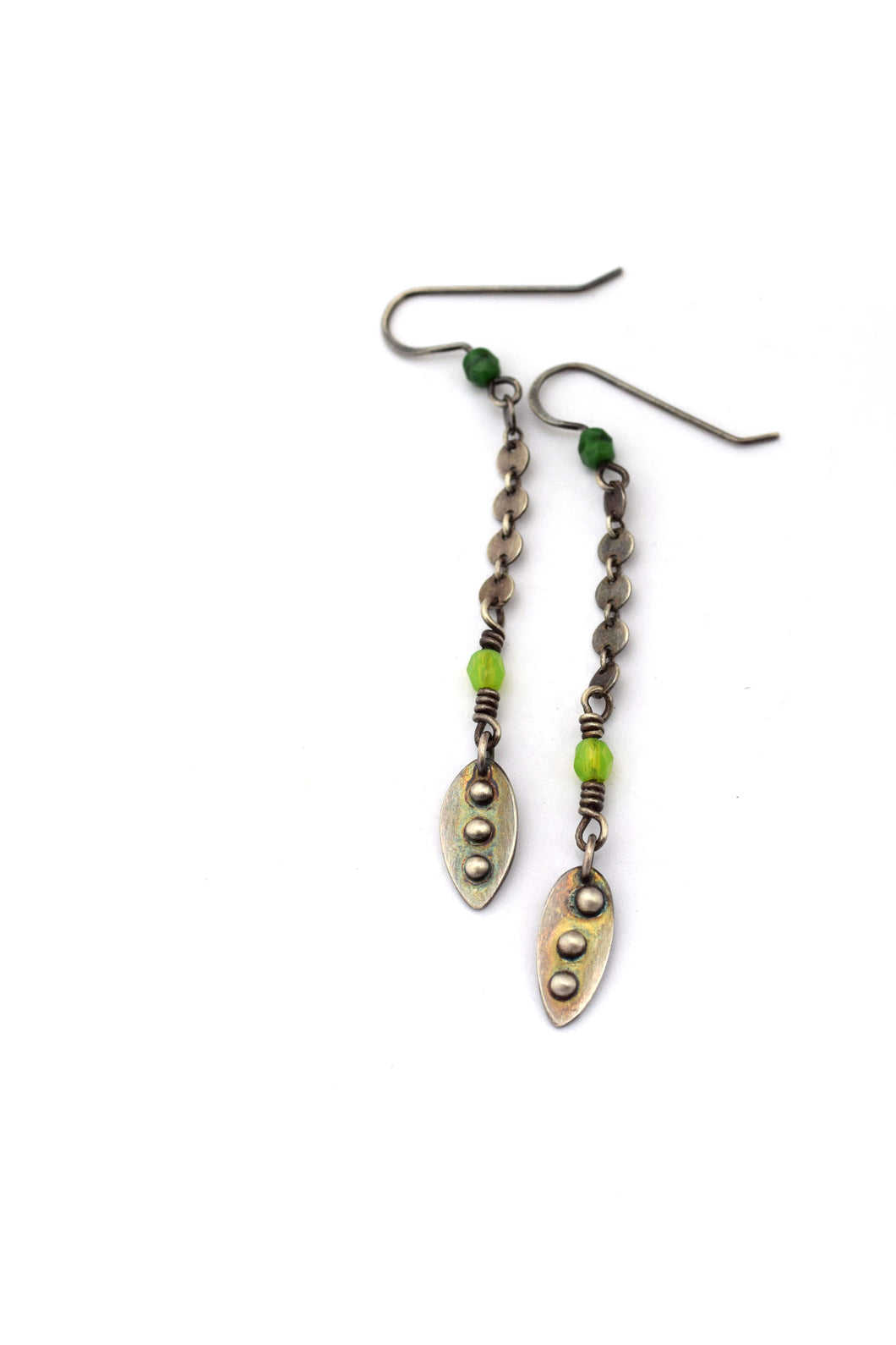 Long Pod Earrings
