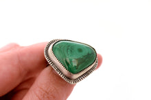 Malachite Ring, Size 8.25