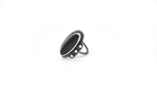 Black Onyx Ring, Size 6
