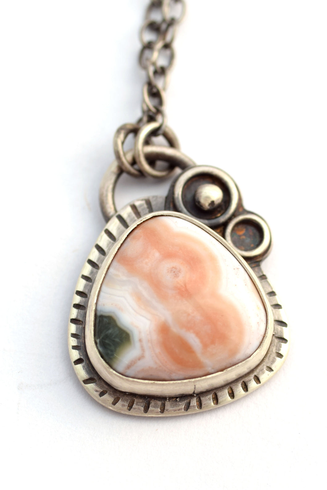 Trillion Ocean Jasper Necklace
