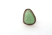 Variscite Statement Ring, Size 8