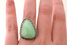 Variscite Statement Ring