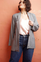 Grey Spotted Blazer Jacket