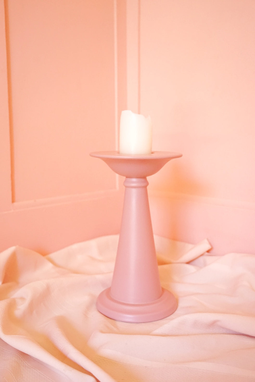 Pink Candle Stand
