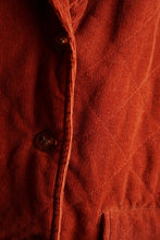 Rust Corduroy Jacket