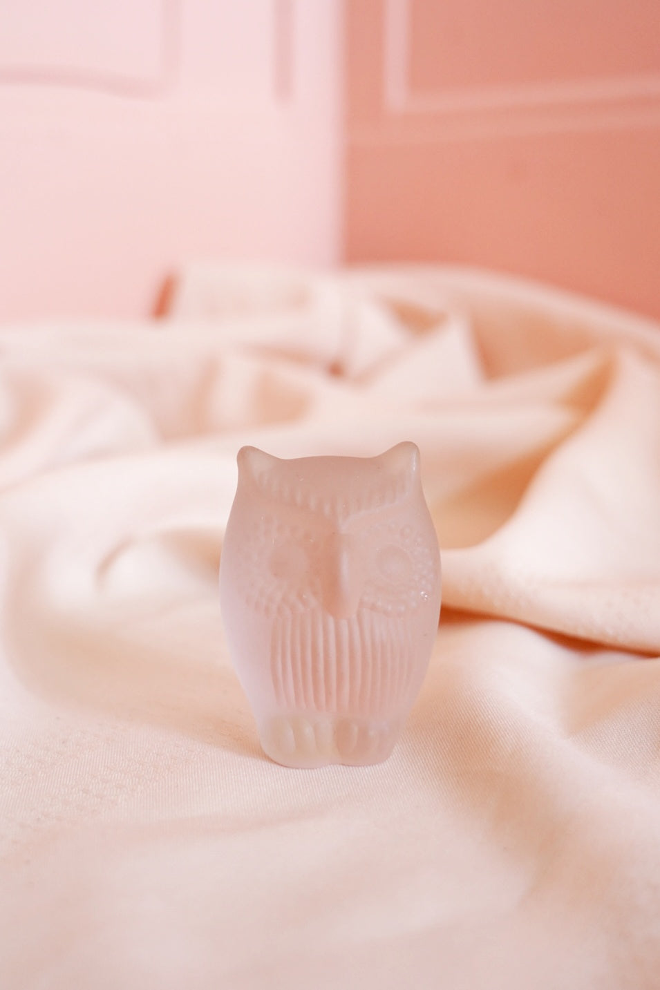 Frosted Glass Owl