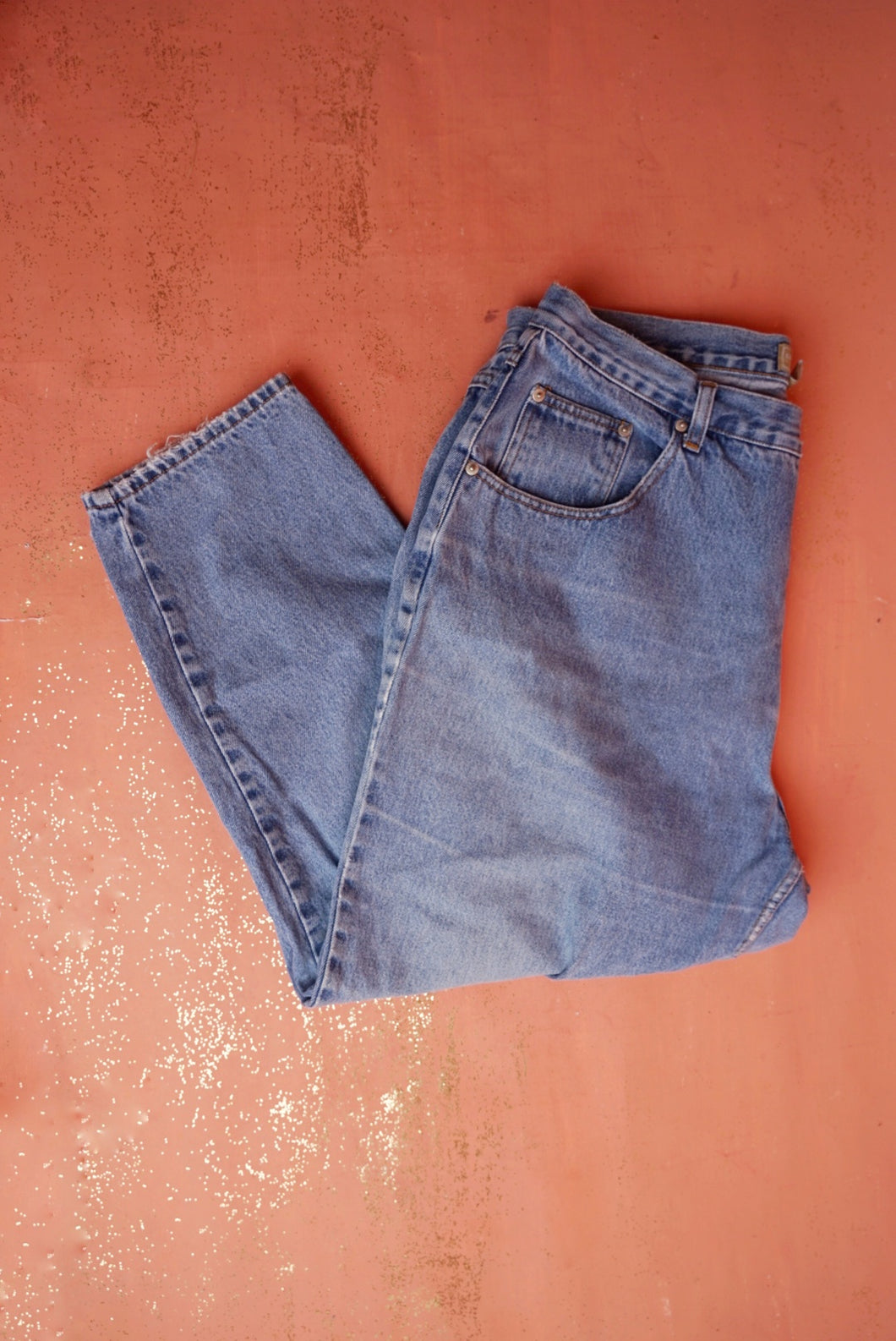 Relaxed High Rise Denim