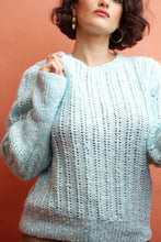 Blue Speckled Sweater