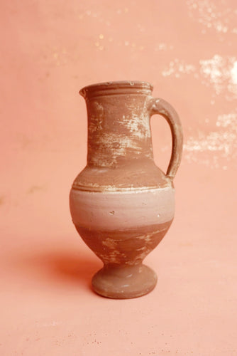 Clay Pitcher Vase
