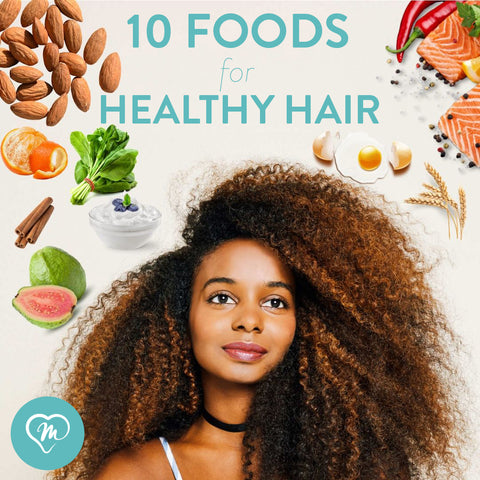 what to eat for long natural hair