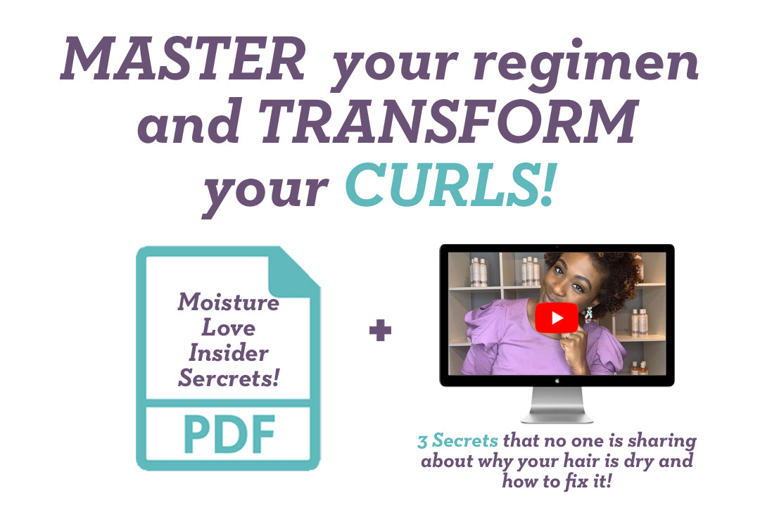 Video & PDF Guide to Transforming your curls