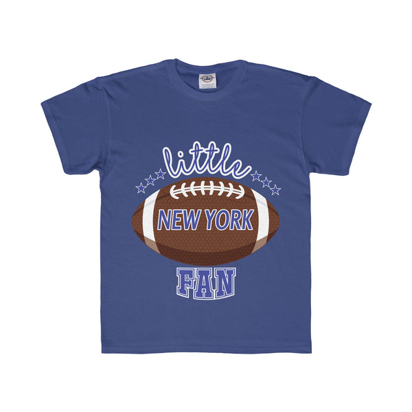Little Newyork Football Fan Regular Fit Tee