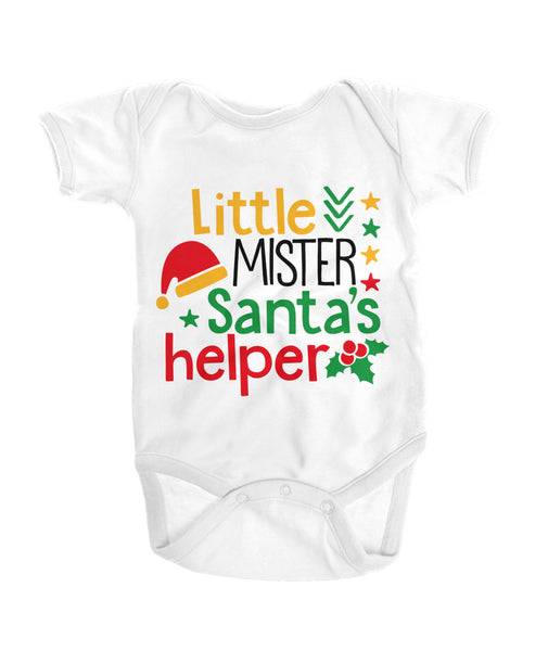 Little Mister Santa's Helper Onesies