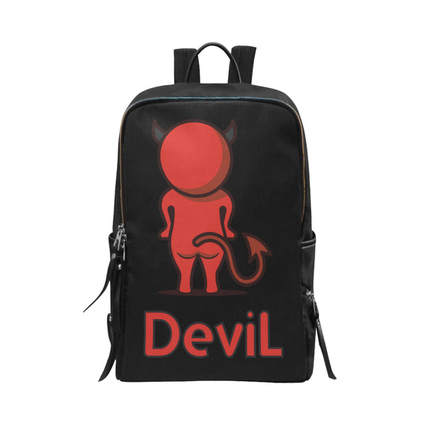Devil Unisex Slim Backpack