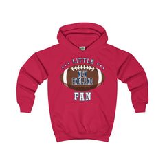 Little New England Football Fan Kids Hoodie