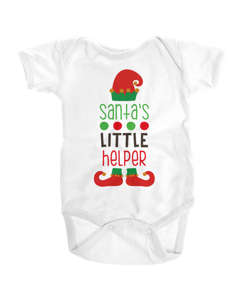 Santa's Little Helper Onesies