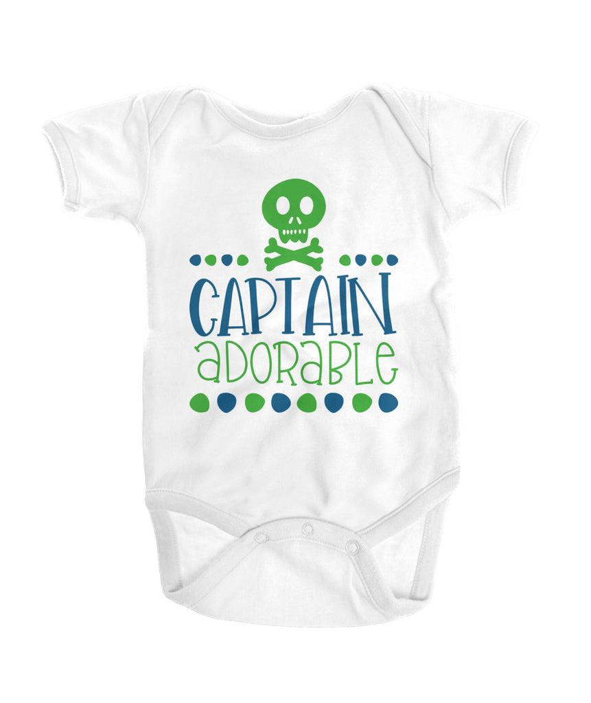 Captain Adorable Onesies