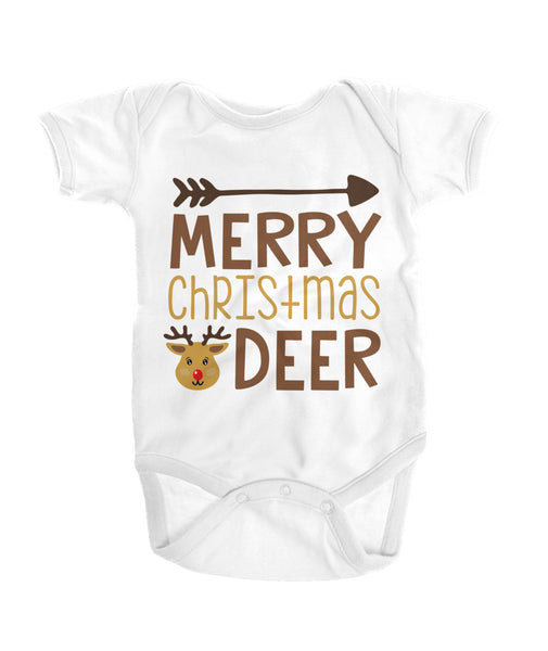 Merry Christmas Deer Onesies