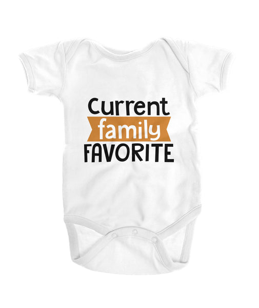 Current Family Favorite Onesies