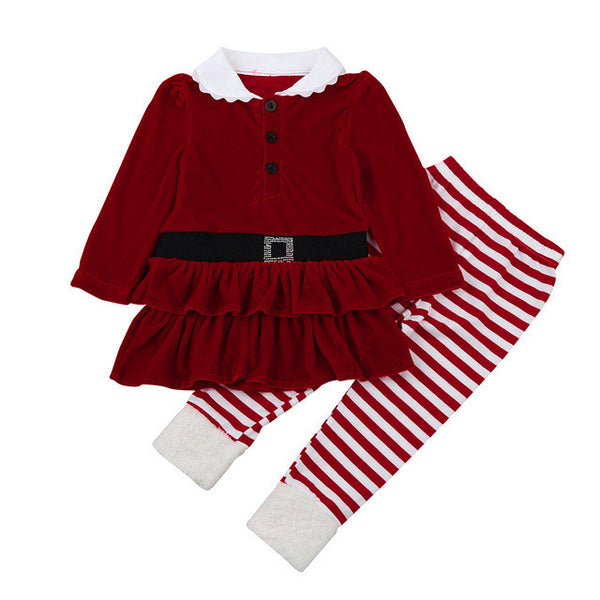 Santa Suit Set for Kids up to 6 years