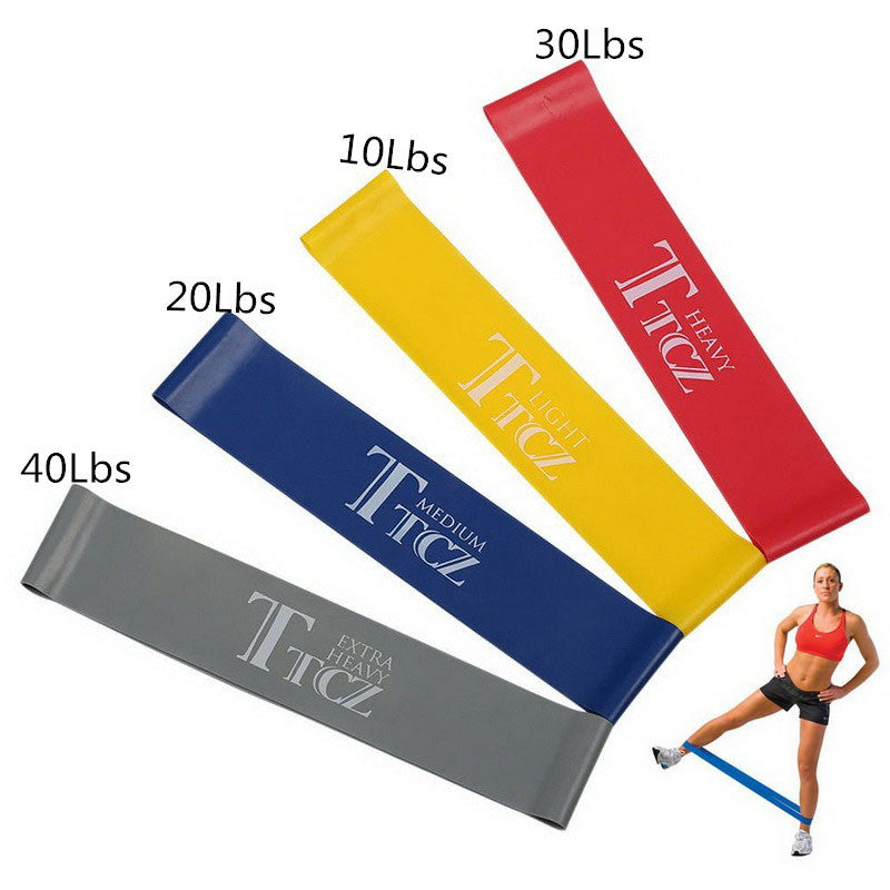 Latex Resistance Yoga Band Elastic Muscle Fitness Training