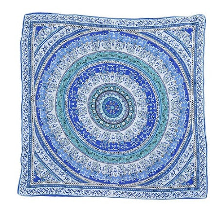 Large Bohemian Rectangle Beach Towel Yoga Mat