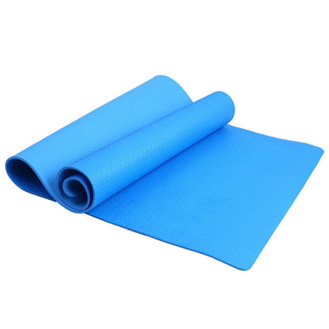 Yoga Mat 4mm Thickness Non-slip For Excercise