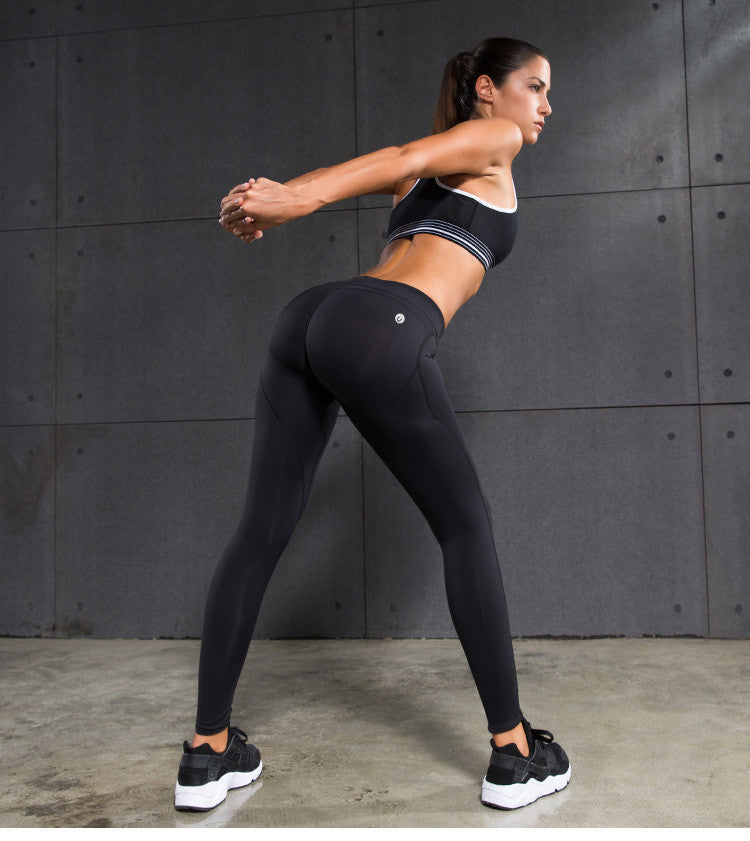 Women's Yoga Pants Compression Shaper Silicone Sportwear