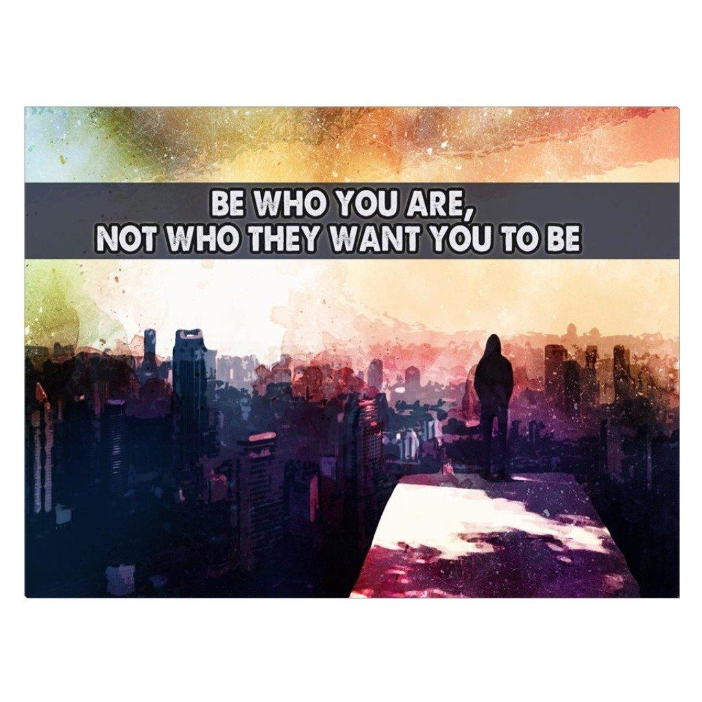 Be Who You Are CANVAS - Seven Mania