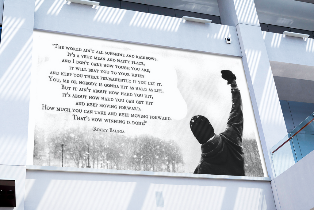 ROCKY BALBOA SPEECH CANVAS