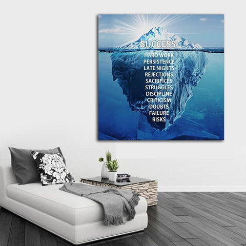 Success Iceberg Canvas