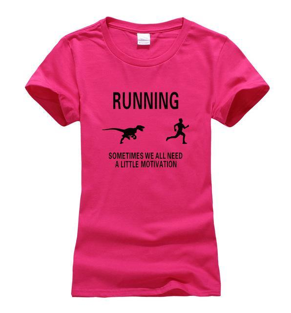 Motivate Runners - SOMETIMES WE ALL NEED A LITTLE MOTIVATION Women T-shirt - Seven Mania