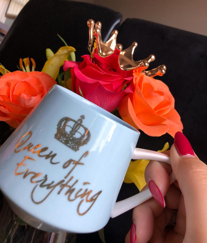 Queen Of Everything Crown Mug - Seven Mania