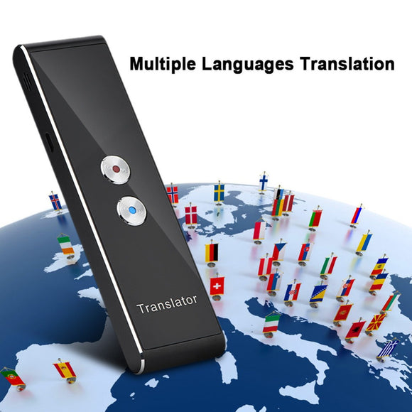 Portable Two-Way Real Time Language Interpreter - Translates 41 Languages - Electric Bicycle