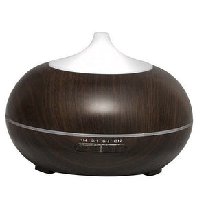 Aroma Essential - Woodgrain Oil Diffuser - Electric Bicycle