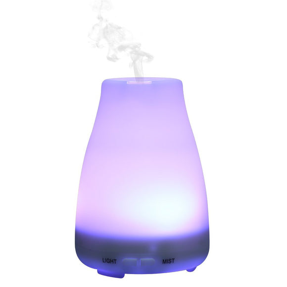 NeW IMAYZEN  LED Light Color Change Dry Protect Ultrasonic Essential Oil Aroma Diffuser Air Humidifier Mist Maker US/EU PLUG - Electric Bicycle