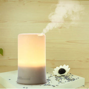 Air Humidifier Essential LED USB Oil Ultrasonic Aromatherapy Aroma Diffuser Mist Spay for Home Car - Electric Bicycle