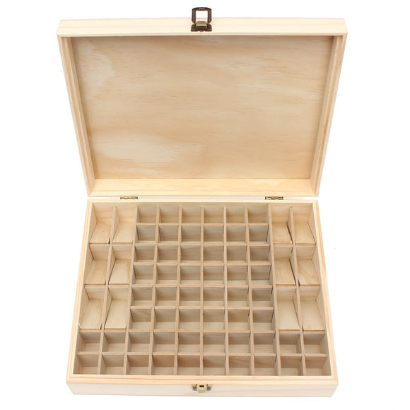 68 Slot Multifunction Wooden Essential Oils Aromatherapy Storage Case - Electric Bicycle