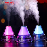 140ML Ultrasonic Humidifier USB Car Humidifier Mini Aroma Essential Oil Diffuser Aromatherapy Mist Maker Home Office - Electric Bicycle